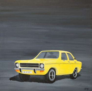 Toy Car Opel Ascona by Anette M. Pierce